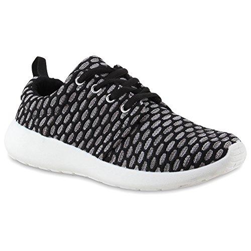 Homens Mulheres Sapatilha Sapatos Desportivos Sneakers Corredores Pretas Com Estampa Floral Em Múltiplos Padrão Cores