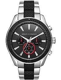 Armani Exchange Reloj Analogico para Hombre de Cuarzo con Correa en Acero Inoxidable AX1813