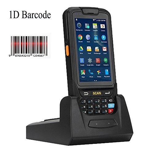 Bc-075android barcode scanner 1d honeywell laser terminale portatile con 4g wifi bluetooth gps telecamera di ricarica culla per magazzini supermercato détaille stock inventario