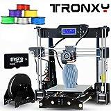 Tronxy Acryl P802MA 3D Drucker Kit Hohe Präzision HD 1284P LCD Genauigkeit MK3 extruder 3d Printer Doppelventilatoren Aluminum Große Druckgröße 220 * 220 * 240mm(Automatische Nivellierung)