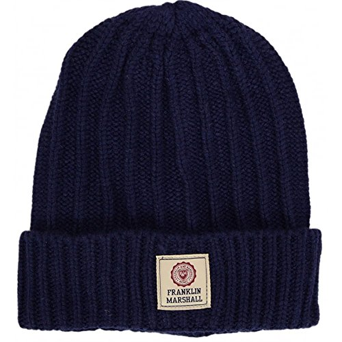 Franklin-amp-Marshall-Knitted-Hat-Navy