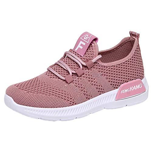 FELEK Lightweight Sports Shoes rutschfeste Wanderschuhe Running Soft Shoes Damen Sneakers