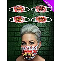 GA Communications FACE MASK COSPLAY COSTUME FANCY PARTY DRESS UP UNISEX HALLOWEEN SUPERHEROES HORROR SCARY