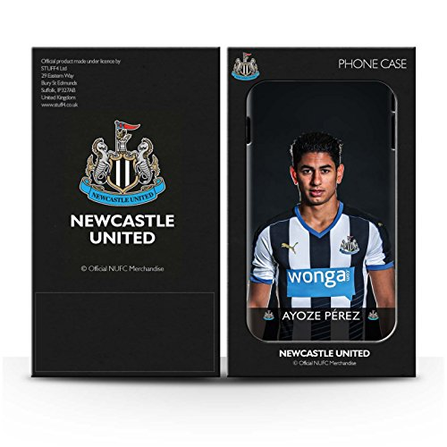 Officiel Newcastle United FC Coque / Clipser Matte Etui pour Apple iPhone 4/4S / Saivet Design / NUFC Joueur Football 15/16 Collection Ayoze