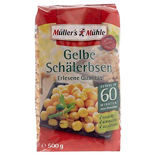 Müller's Mühle Gelbe Schälerbsen, 500 g
