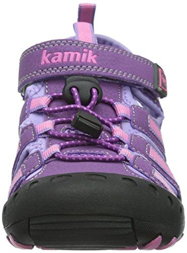 Kamik Crab, Sandales fermées mixte enfant Violet - Violett (PURPLE/PUR)