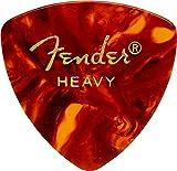 Fender 098-0346-900 346 Shape Picks,  Lot de 12 médiators, Ecaille, Heavy