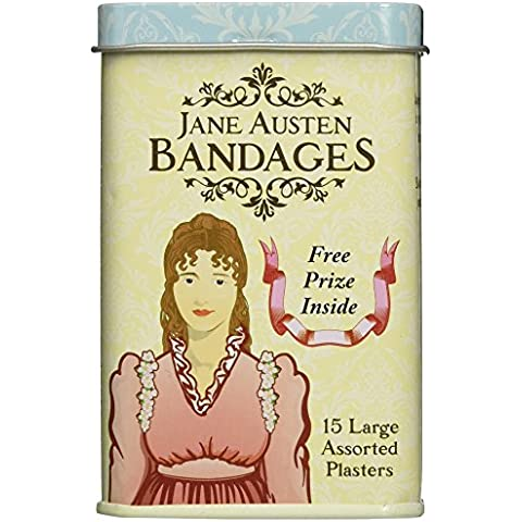 Jane Austen Vendajes Curitas En Estaño