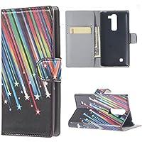 Custodia per LG Magna,Protettiva in Pelle Caso Guscio Flip Folio Case Wallet Cover per LG Magna(5 Pollici)/LG G4C H525N Custodia Casi Portafoglio(Meteor)