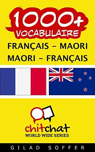 Lire un 1000+ Français - Maori Maori - Français Vocabulaire epub pdf