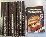 Dr. Oetker Kochbuch: Die schönsten Menüs. Die schönsten Fleischgerichte. Die besten Grillrezepte. Bunte Salate. Die kalte Küche. Feine Küche mit Crème Fraiche. Kochen und Backen mit Heißluft. Mikrowellen-Kochbuch. Die schönsten Mehlspeisen. & Tiefkühlkost die schmeckt. (10 Taschenbücher)