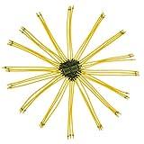 GM&BW 8 Set di 6 Corde Fionda Elastici - Potente Sostituzione per Caccia di Slingshot Metal o Fionda Bambini