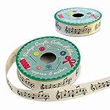 Ruban Cadeau Notes de Musique - Cadeau Maestro