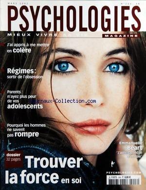 PSYCHOLOGIES MAGAZINE [No 206] du 01/03/...
