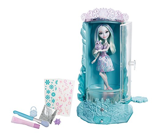 Ever After High - Epischer Winter - Sparklier Spielset mit Crystal Winter Puppe