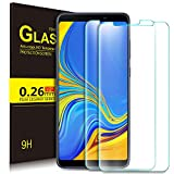 KuGi. Samsung Galaxy A9 2018 Protection Ecran,Samsung Galaxy A9 2018 Ultra Résistant Film Protection écran Glass [Dureté 9H] Screen Protector Samsung Galaxy A9 2018(Pack de 2)