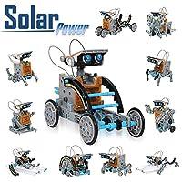 Kit de création de robot solaire CIRO avec 190 pièces faciles à assembler ✤ Respectueux de l'environnement Powered by Solar Ce kit robot est alimenté par le soleil, aucune batterie n'est donc requise. Le robot se déplace, rampe, rampe et flotte sur l...