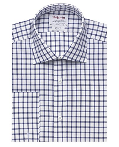 tmlewin-mens-regular-fit-navy-large-check-shirt-155