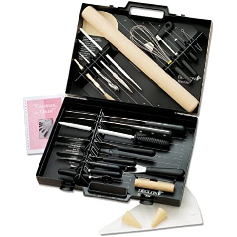Deglon 8382603-V Fix Class - Maletín con utensilios de cocina