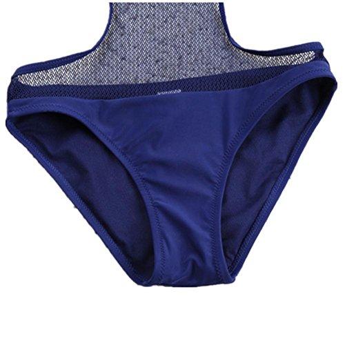 AMYMGLL Frau Bikini Körper Badeanzug Europa und den Vereinigten Staaten undichte Badeanzug hohe Flexibilität und Umweltschutz Black