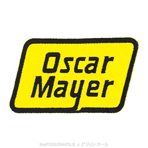 doigt-lechage-good-oscar-mayer-oscar-mayer-jaune-noir-rhombus-badge-a-repasser-a-coudre-brodee-patch