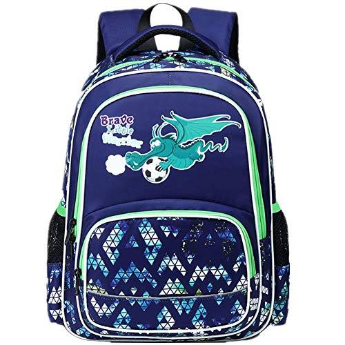 Kinder Schulrucksack für Jungen Schulrucksack Dinosaurier Rucksack Schultasche Grundschule Backpack Schulranzen für Jungen Teenager Jugendliche