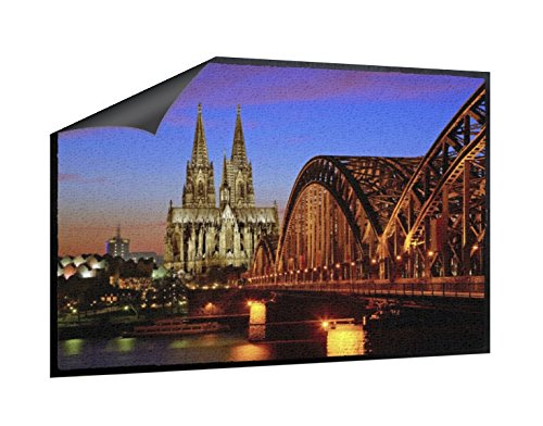 Klebefieber Fußmatte Köln Bei Nacht