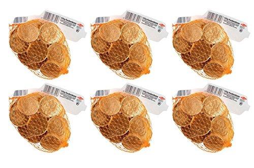 Preisvergleich Produktbild Trumpf - Goldtaler Kaubonbons Schokolade - 6x100g / 600g