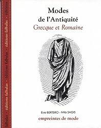 Modes de l'Antiquité grecque et romaine