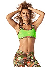 Zumba Fitness® Less Malla More Party Bra Mujer Tops, Mujer, Less Mesh More