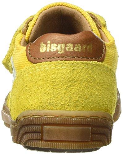 Bisgaard - Klettschuhe, Scarpe da ginnastica Unisex – Bambini Gelb (81 Sun)