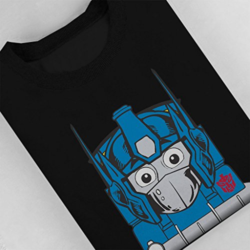 Opthomas Prime Transformers Thomas The Tank Engine Womens Sweatshirt Black