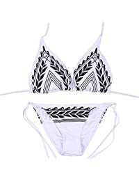 SAMGU Sexy Maillots de bain Femmes Bikini Set Push Up Swimsuit Bathing Suit Tenue de plage