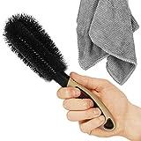 SARTEON Premium Felgenbürste für perfekte Reinigung hochwertiger Stahl- und Alufelgen - Felgenreinigungsbürste - Felgen reinigen (3 Farben)