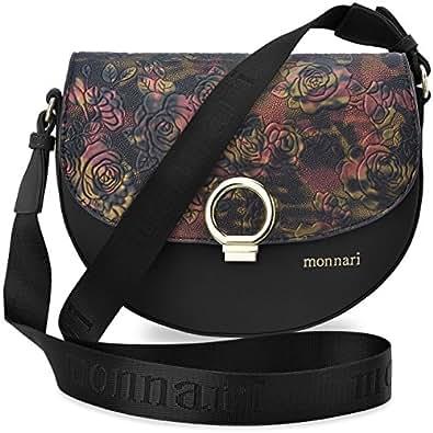 Rosa Monnari Damentasche Schultertasche Handtasche Umhängetasche