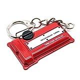waterwood Creative Auto Teil Modell Nissan S13/S14/S15SR20DET Motor Schlüsselanhänger ring-red mit Reinigungstuch