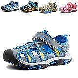 Gloria JR Kinder Outdoor Athletic Sandale Für Jungen Kinder (24 EU (7 UK Child=15 CM), Blau(Blue))