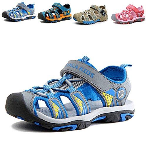 Gloria JR Kinder Outdoor Athletic Sandale Für Jungen Kinder (26 EU (8 UK Child=16.3 CM), Blau(Blue))