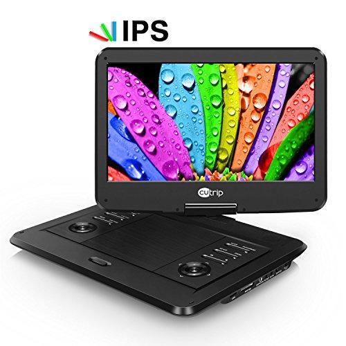 Tragbarer DVD Player IPS Bildschirm (14 Zoll)