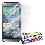 MUZZANO FPR-180-321-NNNN Displayschutzfolie, HTC One Mini 2, Durchsichtig