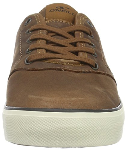 O'Neill Psycholow Oiled Nubuck, Baskets Basses Homme Marron - Braun (Cognac D21)