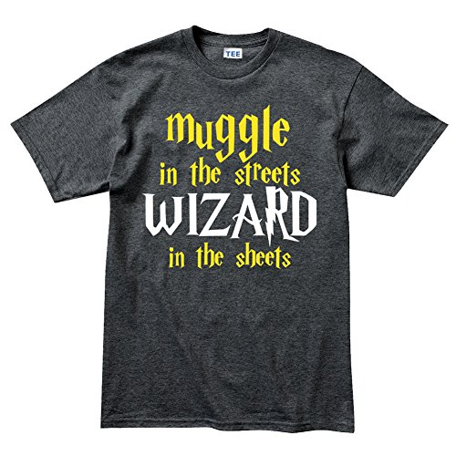 Epsion Muggle In The Streets Wizard in The Sheets Funny Magic T Shirt