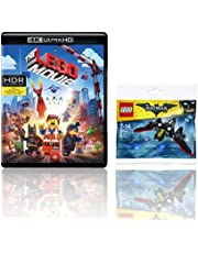 The LEGO Movie (4K UHD & HD) (2-Disc) + LEGO The Mini Batwing Toy