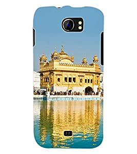 ColourCraft Golden Temple Amritsar Back Case Cover for MICROMAX CANVAS 2 A110