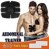 ABS Trainer Muscle yiitay addominale Cintura Muscle ABS allenatore Muscle dispositivo di rimessa in forma il corpo macchina di rimessa in forma Fitness Ginnastica a casa attrezzatura per uomini donne