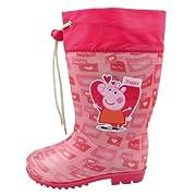 Stivali per la pioggia con chiusura regolabile al polpaccio utile per evitare infiltrazioni d'acqua all'interno del piede. Prodotto originale con licenza ufficiale.