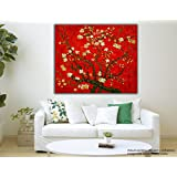 Tamatina Canvas Paintings - Japanese Maple Tree - Red Canvas Art - Nature Canvas Art - Modern Art Paintings - Paintings For Home Décor - Paintings For Drawing Room - Wall Paintings For Bedroom - Paintings For Living Room - Canvas Paintings For Wall