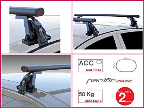 Dachträger Gepäckträger komplett G3Pacific Basic Stahl 1,1m