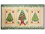 Use&Wash Weihnachtsmatten - Limitierte Sonderedition - Festliche Weihnachtsbäume