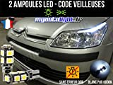 Pack faros LED de color blanco xenón para CITROEN C4